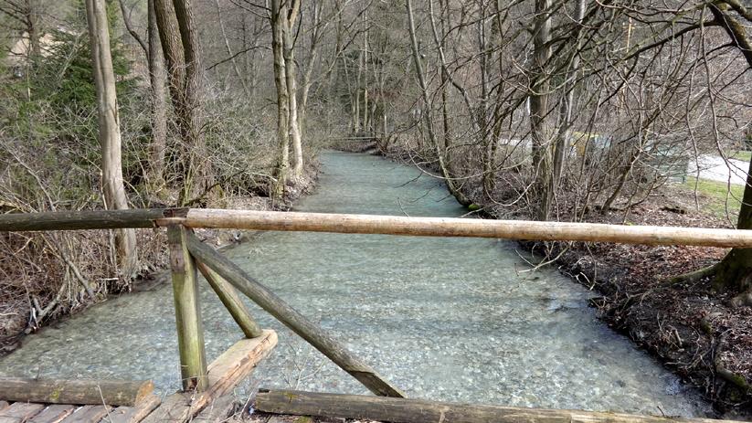 Blatnický hrad ::potok