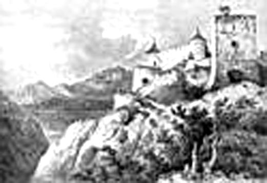 Blatnický hrad ::kresba