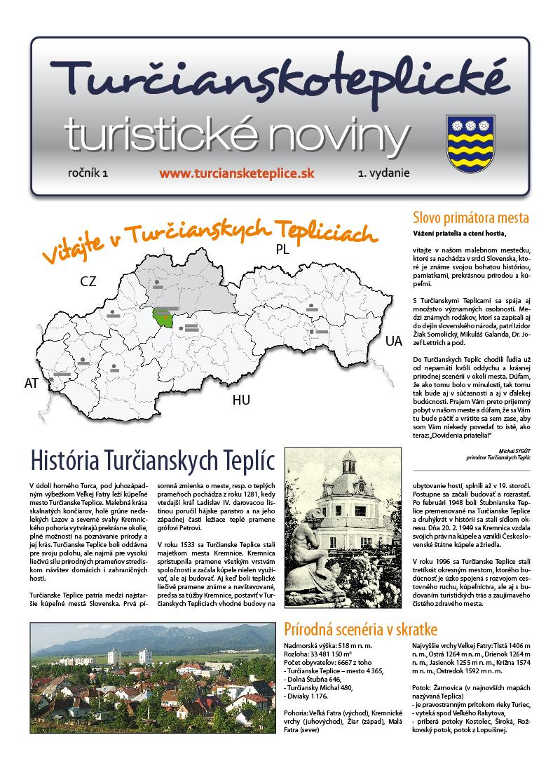 Turistické noviny:: pôvodná tlačová verzia