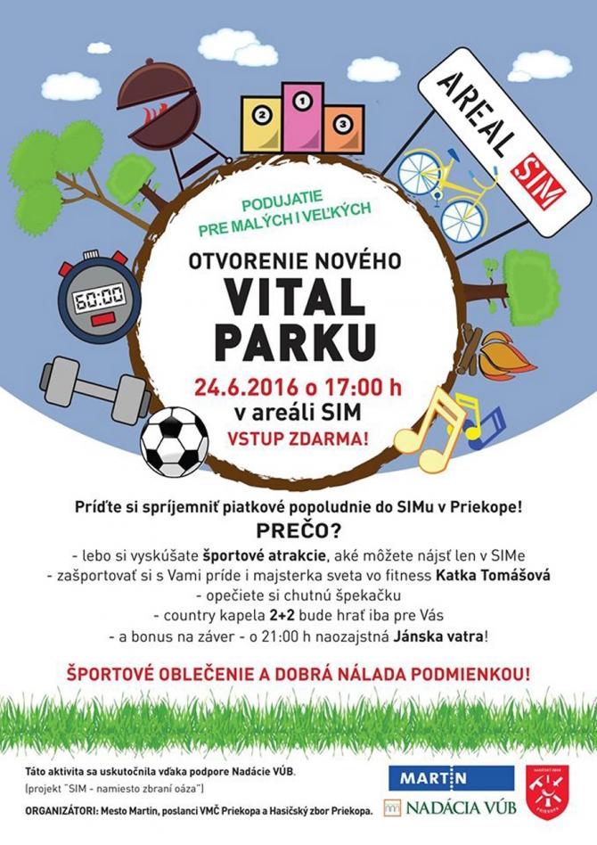 146aa2e64 Turistické noviny - Slávnostné otvorenie nového VITAL PARKU
